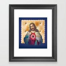 Christ On A Cracker Framed Art Print