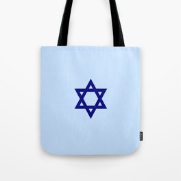Star of David 9- Jerusalem -יְרוּשָׁלַיִם,israel,hebrew,judaism,jew,david,magen david Tote Bag