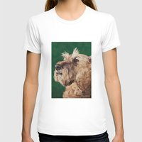 irish T-shirts featuring Irish terrier by Carl Conway