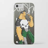 punisher iPhone & iPod Cases featuring The Punisher by Pahito