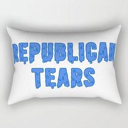 Republican Tears Rectangular Pillow