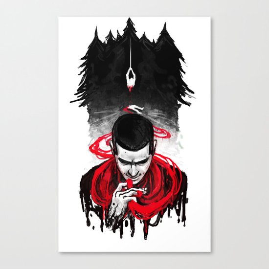 TW: First Blood Canvas Print