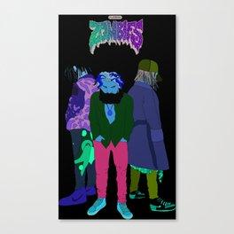 "Flatbush Zombies ""This is it"" Original Design Canvas Print"