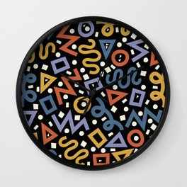 Colorful Party! Wall Clock