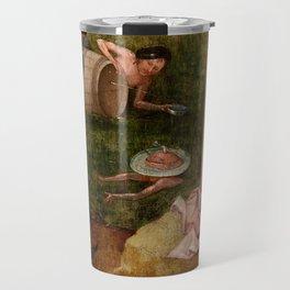 """Hieronymus Bosch """"Allegory of Gluttony"""" Travel Mug"""