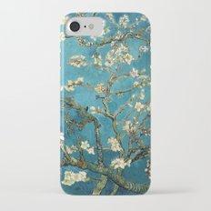 Blossoming Almond Trees, Vincent van Gogh. Famous vintage fine art. iPhone 7 Slim Case