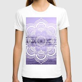 Water Mandala Lavender T-shirt