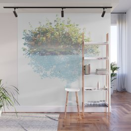 Where the sea sings to the trees - 3 Wall Mural
