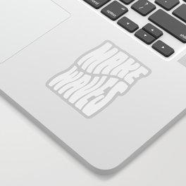 Make Waves Sticker