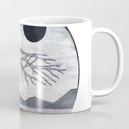 Wooden Bird Coffee Mug