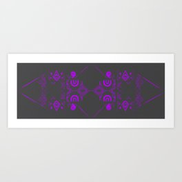 Elec-Tron A Art Print