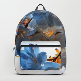 SPRING BLOSSOMS - IN BLUE Backpack