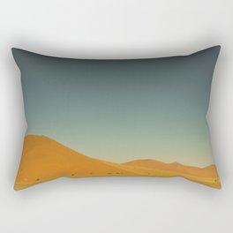 Dark Sky Vivid Red Dunes Rectangular Pillow