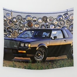 1987 Grand National Turbo Wall Tapestry