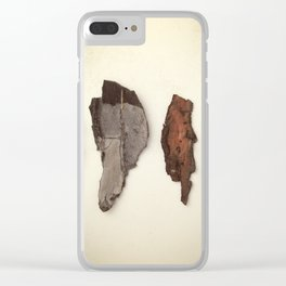 Stem barks Clear iPhone Case