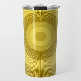 Golden brown Travel Mug