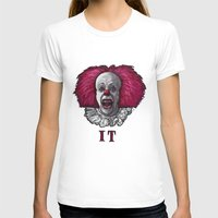 pennywise T-shirts featuring Pennywise by zinakorotkova