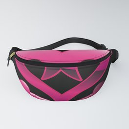 Emo heart Fanny Pack