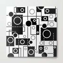 Circles And More Metal Print