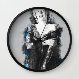 Whimsical Marilyn Wall Clock