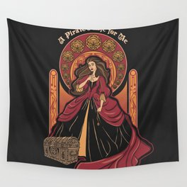 The Pirate Life Wall Tapestry