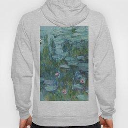 """Claude Monet """"Water Lilies"""" (8)(1915) Hoody"""