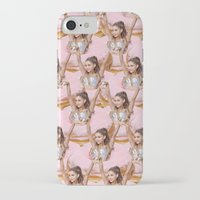 ariana grande iPhone & iPod Cases featuring Grande Donuts by vllancourt