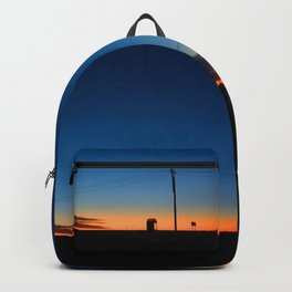 Outback sunset Backpack