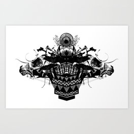 HORSEHEAD CREST Art Print
