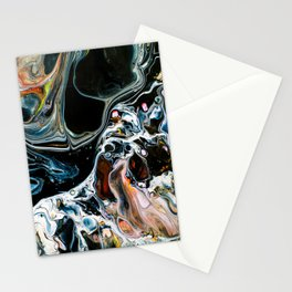 Abstract Melt X Stationery Cards