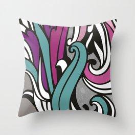floral patterns Throw Pillow