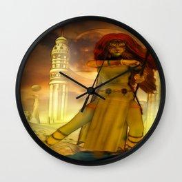 Defender Wall Clock
