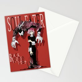 Black Blooded / Red Stationery Cards