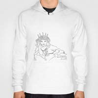 mucha Hoodies featuring Mucha Style by Crousticro