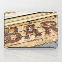 bar iPad Cases featuring Bar by Chantal Seigneurgens