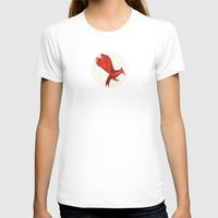 mockingjay T-shirts featuring Mockingjay CatchingFire by Blanca MonQnill Sole