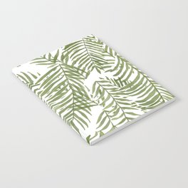 Areca Palm Pattern Notebook
