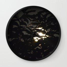 MoonLight Madness Wall Clock
