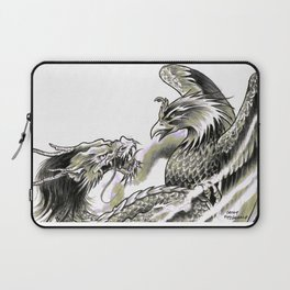 Dragon Phoenix Tattoo Art Print Laptop Sleeve