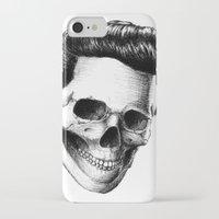 elvis presley iPhone & iPod Cases featuring Elvis Presley by Motohiro NEZU