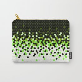 Flat Tech Camouflage Reverse Green Carry-All Pouch