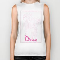 drive Biker Tanks featuring Drive by Matthew Bartlett