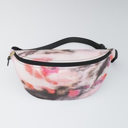 Modern marble Pink Fanny Pack