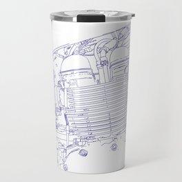 bonney drawing blue Travel Mug