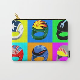 Pop-art Helmets - Variation #3 Carry-All Pouch