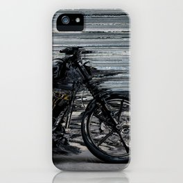 Black and Fast iPhone Case