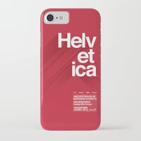 helvetica iPhone & iPod Cases featuring Helvetica by Cohen McDonald