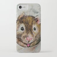 hamster iPhone & iPod Cases featuring Hamster Love by Michael Creese