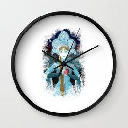 Snow Maiden Wall Clock