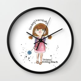 Learn to fly Wall Clock